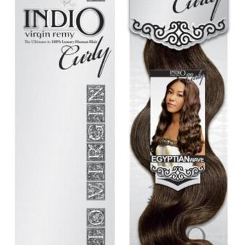 """Indio Curly Egyptian Wave 12"""" Virgin Remy Hair"""