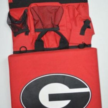 UGA University Of Georgia Bulldogs Stadium Seat w/Pockets Go Dawgs!