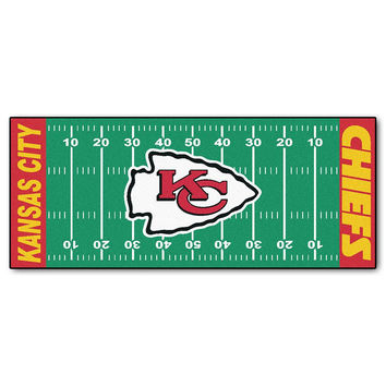 Kansas City Chiefs NFL Floor Runner (29.5x72)