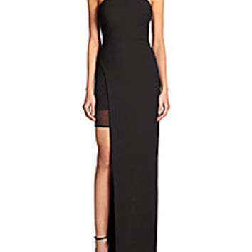 Elizabeth and James - Tegan Side-Slit Column Dress - Saks Fifth Avenue Mobile