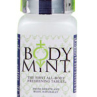 Body Mint Body Odor Pill - 60 Tablets