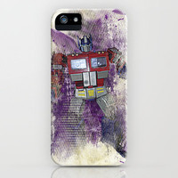 G1 - Optimus Prime iPhone Case by DesignLawrence | Society6