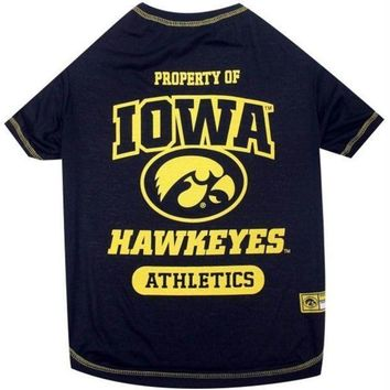PEAPB5F Iowa Hawkeyes Pet Tee Shirt