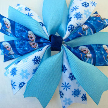 Disney Frozen Elsa Spike Hair Bow