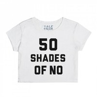 50 Shades of NO-Unisex Snow T-Shirt