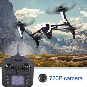 WLtoys Q333 - C Remote Control Helicopter Quadcopter With 720P Camera 2.4G 4CH 6-Axis Gyro RTF RC Mode Auto Return Drone