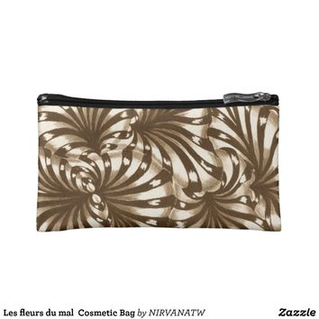 Les fleurs du mal Cosmetic Bag from Zazzle.com