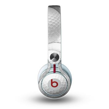 The Golf Ball Overlay Skin for the Beats by Dre Mixr Headphones