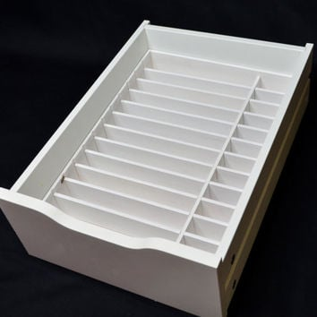Makeup Organizer   IKEA Alex 9 Palette Organizer   IKEA Alex 9 Makeup Drawer  Insert. Best Ikea Drawers Products on Wanelo