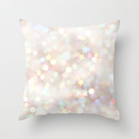 not in the stars Throw Pillow by Sylvia Cook Photography