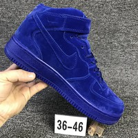 Metoo Nike Air Force 1 Mid For Christmas AF1 Running Sport Casual Shoes 315123-410 Sneakers