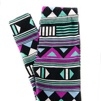 Girls Leggings - Print 22