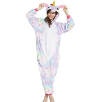 Anime Pajama Sets Warm Onesuits for adults Men Women unicornio Cartoon Cosplay Stich Pikachu Totoro Dinosaur Panda Pijama