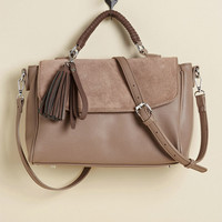 There's an Aplomb for That Bag in Taupe