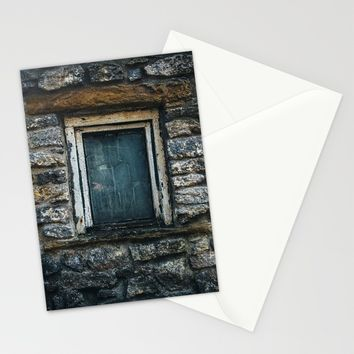 Who's That Peepin' In The Window? Stationery Cards by Mixed Imagery