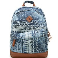 Volcom Supply Thrift Fun School Backpack - Womens Backpack - Brown - One