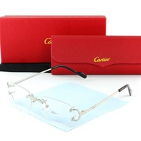 One-nice™ Cartier Women Fashion Sun Shades Eyeglasses Glasses Sunglasses