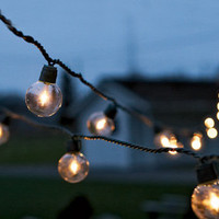 Global Party String Lights  - Outdoor Lighting & Candlelight - Home & Garden - NapaStyle
