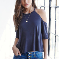 Me To We Cold Shoulder Top at PacSun.com
