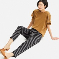 WOMEN SMART STYLE ANKLE-LENGTH PANTS