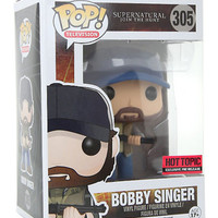 Officially Licensed Funko Supernatural Pop! Bobby Singer Vinyl Figure