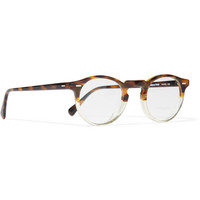 Oliver Peoples - Gregory Peck Acetate Optical Glasses | MR PORTER