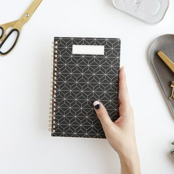 Pattern Spring Notebook