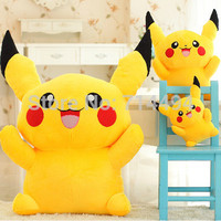 Free Shipping Special Offer Pikachu Plush Toys High Quality Very Cute Pokemon Plush Toys For Children's Gift