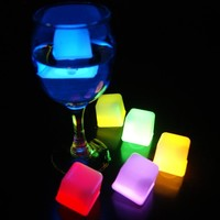Party Lovers Party Centerpieces Glow In The Dark Assorted Neon Ice Cubes