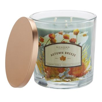 SONOMA life + style Autumn Breeze 14-oz. Large Jar Candle
