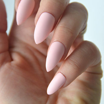 Best Pink Matte Nails Products On Wanelo