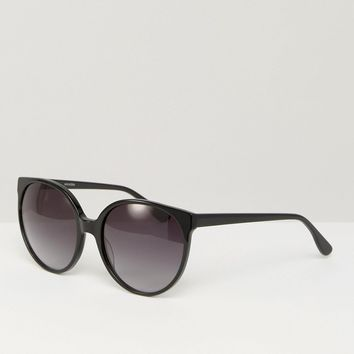 Pala Maha Round Cat Eye Sunglasses at asos.com