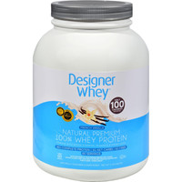 Designer Whey Protein Powder French Vanilla - 4 Lbs