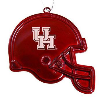 University of Houston - Chirstmas Holiday Football Helmet Ornament - Red