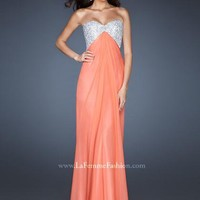 La Femme Dress 18313 at Peaches Boutique