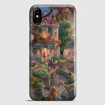 Lady And The Tramp Disney iPhone X Case
