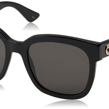 Gucci 0034S 001 Black 0034S Square Sunglasses Lens Category 3 Size 54mm