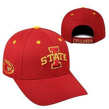 Licensed Iowa State Cyclones NCAA Adjustable Triple Threat Hat Cap Top of the World KO_19_1