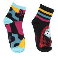 The Nightmare Before Christmas Sally Varsity Socks 2 Pair