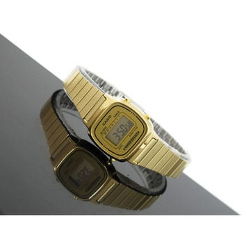 Casio Women's Digital Alarm Gold Tone Vintage Watch LA670WGA-9 LA670 LA670WGA