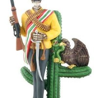 Zapata Mexican Revolutionary Day of the Dead Statue