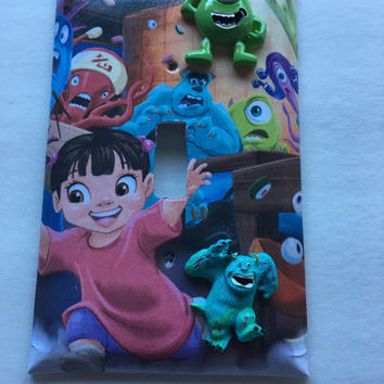 Monsters Inc Switch plate