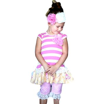 Giggle Moon-Light of Life Mabel Dress & Capri Legging Set