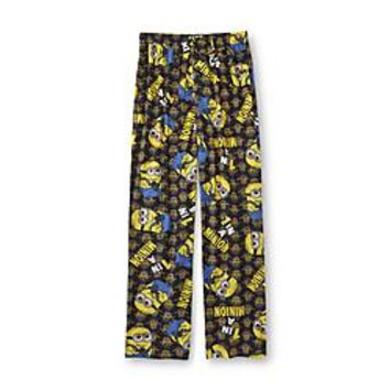 Despicable Me Men's Fleece Pajama Pants - 1 In A Minion - Clothing, Shoes & Jewelry - Clothing - Men's Clothing - Men's Regular Clothing - Men's Regular Sleepwear