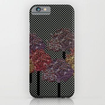 Autumn trees iPhone & iPod Case by Bozena Wojtaszek