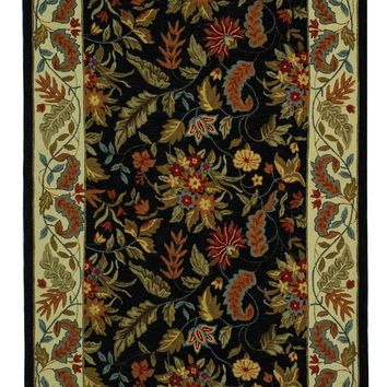 Chelsea Transitional Indoor Area Rug Black