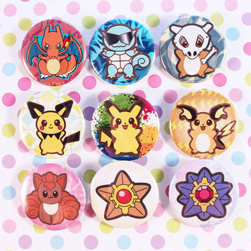 Pokemon Cuties Pins
