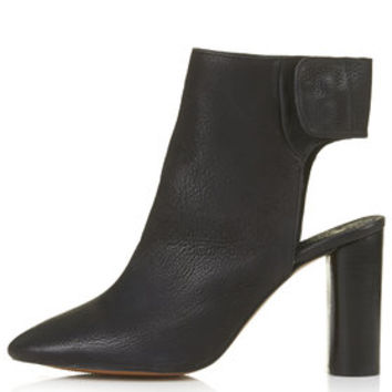 MAID Slingback Ankle Boots - Black