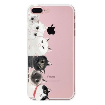 if you fight me it becomes a dog fight them cat case for iphone 7 7plus iphone se 5s 6 6 plus high quality cover gift box 90  number 1