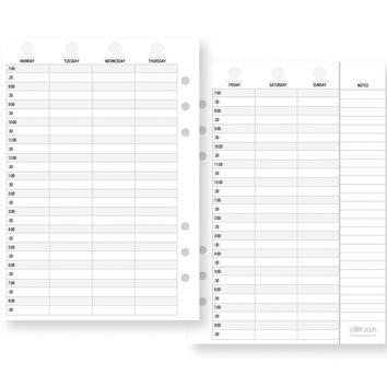 Simple Stories Carpe Diem Planner Essentials Appointment Weekly Inserts Vertical